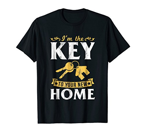 - I'm The Key To Your New Home Realtor Real Estate TShirt