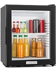 Klarstein MKS-12 - minibar, minikoelkast, drankkoeler, A, 24 liter, laag energieverbruik, ca. 38 x 47 x 38 cm (BxHxD), 30 dB stille werking, zwart