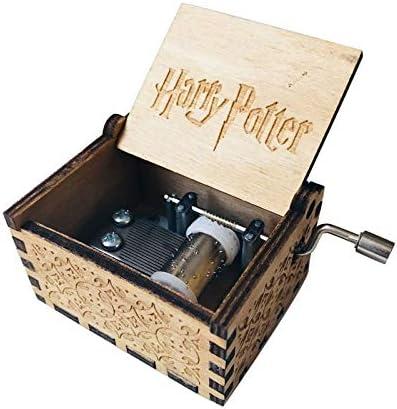 WRUMLJUFX Caja de música de Madera Regalo Navidad Feliz año Regalo niño-Harry Potter: Amazon.es: Hogar