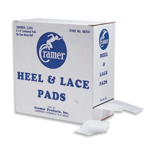 Cramer Heel & Lace Pads Box of 2000 (BOX) by Cramer