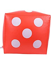 Activities Outdoor Lightweight Inflatable Dice, Portable Dice, for Party Dice Toy Pool Party Supply Game