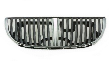 Lincoln Town Car Chrome Grille - Lincoln Town Car 98-02 Front Grille Car Chrome/PTD W/Lts Model New