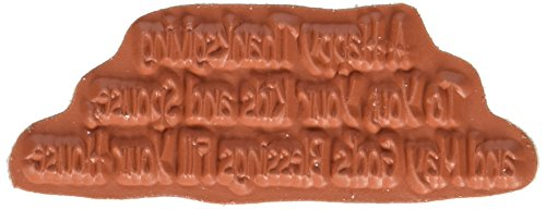 """Gourmet Rubber Stamps Happy Thanksgiving to You Cling Stamps, 2.75 by 4.75"""""""