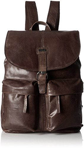 Spikes amp; Sparrow Backpack Zaini Unisex Adulto Marrone dark Brown