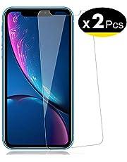 """NEW'C Pacco da 2 Pezzi, Pellicola Protettiva in Vetro Temperato per iPhone 11, iPhone XR (6.1"""")"""
