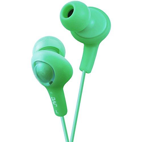 JVC HAFX5G Gumy Plus Inner Ear Headphones (Green) (Jvc Ipod Cord)