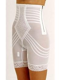 Rago Shapewear High-Waist Long Leg Pantie Girdle Style 6201