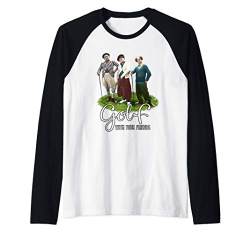 (Golf With Your Friends Raglan Baseball Tee)