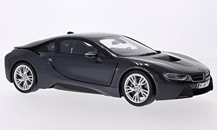 Amazon Com Bmw I8 Metallic Dark Grey Model Car Ready Made