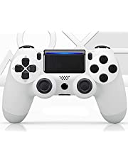 PS4 Controller Wireless Bluetooth Gamepad [Upgrade Version], Touch Panel Gamepad for PS4/3/Pro/Slim/PC with Dual Vibration, Headset Jack, Six-Axis, Evolved Joystick,Suit Spider-Man, Ghost of Tsushima.