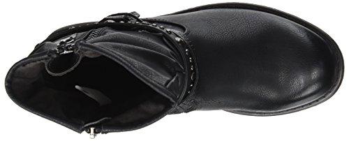 Tom Botas Noir Motero Tailor Black Estilo 3795607 Mujer qwqr1
