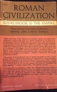 Roman Civilization, Sourcebook II: The Empire