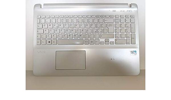 Upper Case con Touchpad y teclado para Sony SVF152A29M ...