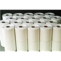 40 Rolls - Direct Thermal 4 x 6 Labels - 10,000 total, for Zebra, Eltron, and Samsung Printers