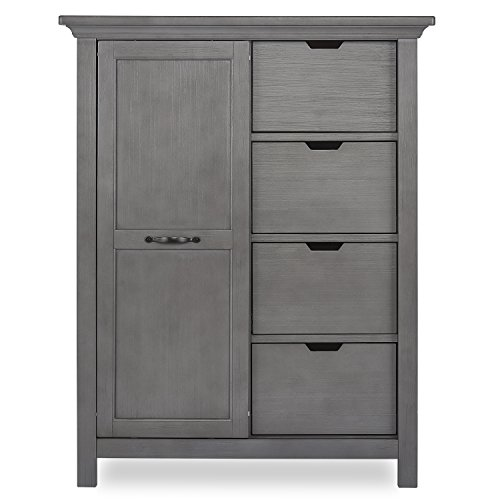 Evolur Belmar Tall Chest, Rustic Grey