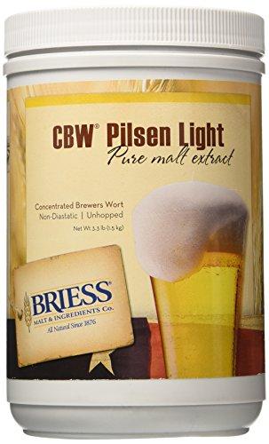 Briess Pilsen Light Malt Extract, 3.3lb