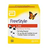 FreeStyle Lite Blood Glucose Test Strips - 50