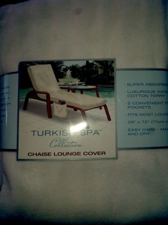 Turkish Spa Chaise Lounge Cover