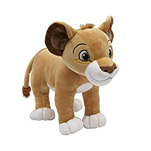 Lambs & Ivy Disney Baby Lion King Simba Adventure Plush, Brown/White