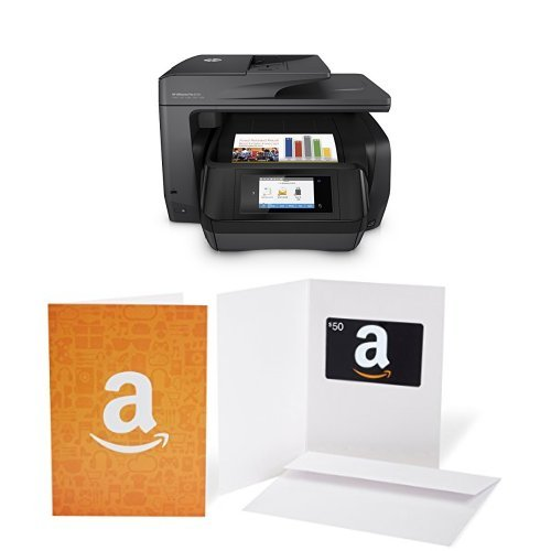 HP OfficeJet Pro 8720 black and Amazon.com $50 Gift Card bundle