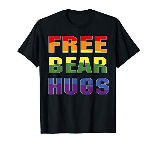 - Free Bear Hugs Shirt For Men Women Tshirt Funny