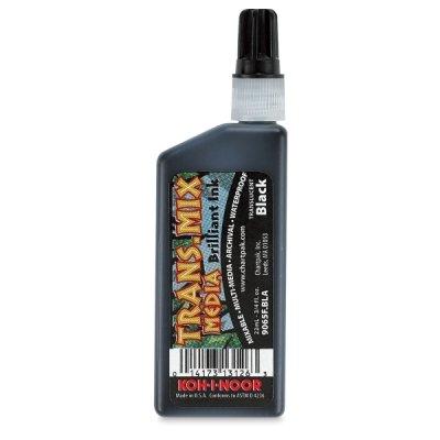 Koh-I-Noor Dye-Based Drawing Ink, 0.75 Ounce Bottle, Gray (9065F.GRE)