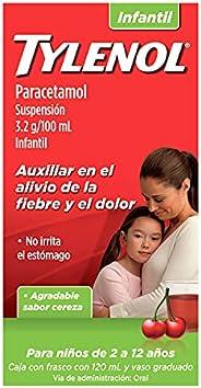TYLENOL Analgésico Suspensión Infantil 120 Ml