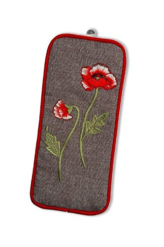 Spectacles Case in a Poppies Design Justina Claire Poppiesspecs