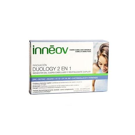 Inneov Duology 2em1 Cuero Cabello Y Pelo 30caps: Amazon.es: Salud y cuidado personal