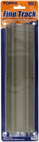 TOMIX Nゲージ 複線スラブレール DS280-SL F 2本セット 1067 鉄道模型用品の商品画像