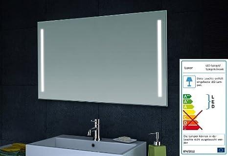 Lux aqua design specchio da parete specchio da bagno led