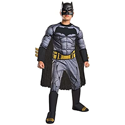Rubie's Costume: Dawn of Justice Deluxe Muscle Chest Batman Costume, Small: Toys & Games