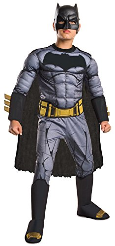 Rubie's Costume: Dawn of Justice Deluxe Muscle Chest Batman Costume, Large -