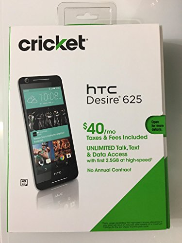HTC Desire 625 4G LTE Gsm Cricket Android 5.1 Quad core LCD 5.0'' 8GB by Cell.
