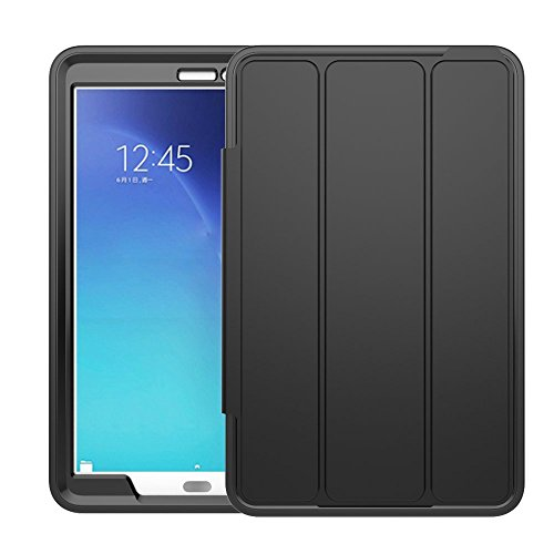 Cheap Cases Samsung Galaxy Tab E 9.6 Case(T560),Veggzy 3in1 Slim Heavy Duty Shockproof Armor..