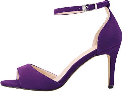 CFP - Zapatos con tacón mujer morado