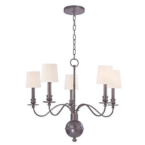 Hudson Valley Lighting 8215-OB Cohasset 5-Light Chandelier, 25.5
