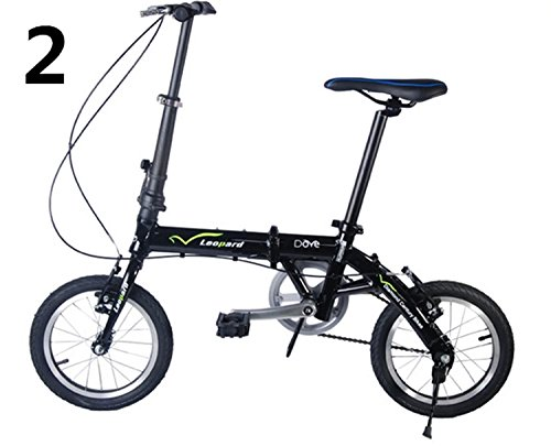14インチ 折りたたみ自転車 折畳自転車 おりたたみ自転車 MTB おりたたみ自転車W20 B00QA133GQイエロー