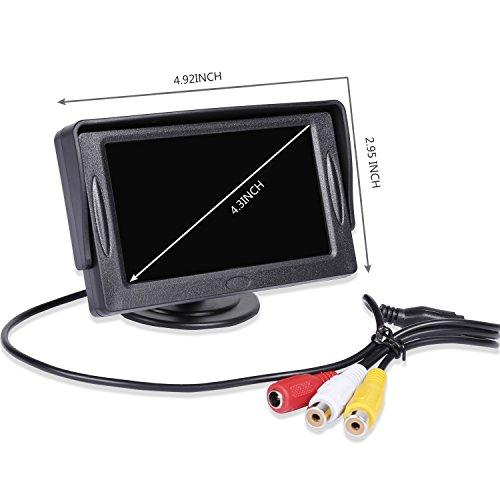 Noiposi Backup Camera And Monitor Kit For Car Universal