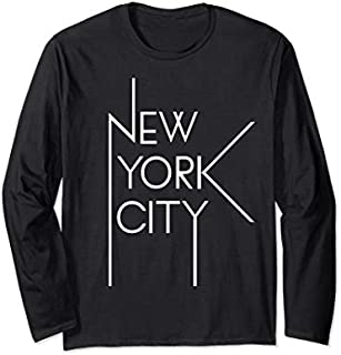 [Featured] Urban New York City Fashion , New York City Long Sleeve in ALL styles | Size S - 5XL