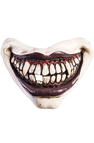 Adult Inflatable Evil Clown Costumes (Evil Clown Mouthpiece Costume Accessory)