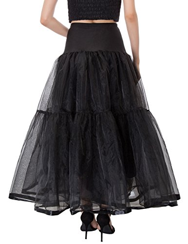 Petticoat 6 Femme 1 GRACE Jupon sous Cl747 Robe Longue Longueur KARIN Cheville Couleurs 100cm en Tulle qT77wE0x