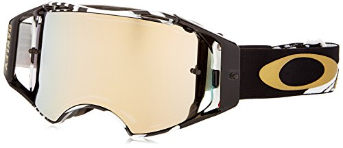 Oakley Airbrake MX Men's Goggles (Herlings Bullet Frame/24K Iridium - Is What Lenses Iridium