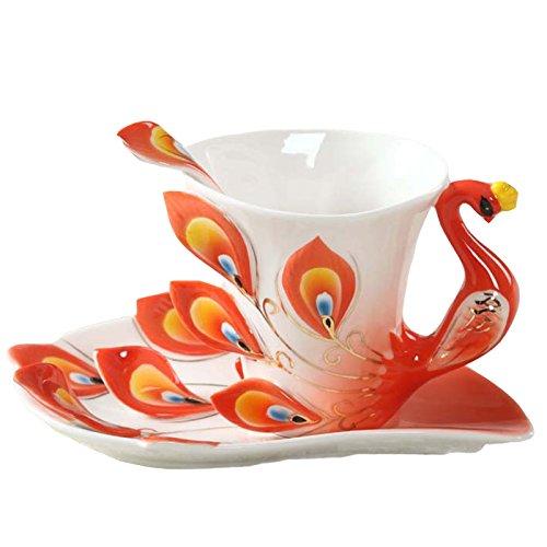Oneoftheworld 1pc 3d Animal Ceramic Mug Coffee Tea Sets Mugs Glassware Drinkware Kitchen Tools (TypeY23)