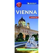 Michelin Vienna City Map - Laminated