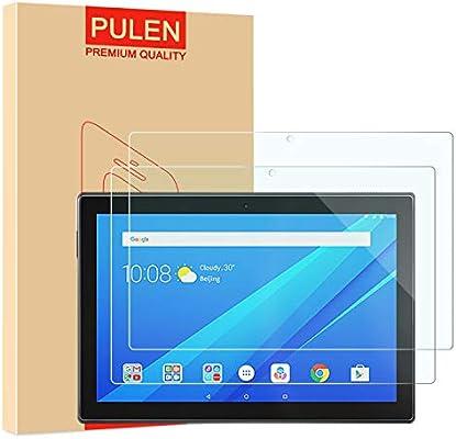 "2-Pack 10.1/"" PULEN Screen Protector for Lenovo Tab M10 10.1/"",Easy Installation Anti-Fingerprints 9H Hardness Bubble Free Tempered Glass for Lenovo Smart Tab M10"