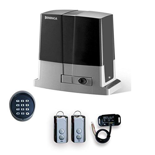 Beninca Gate Opener Bull 424R CPanel, Receiver, 2 Transmitter, Wireless Keypad