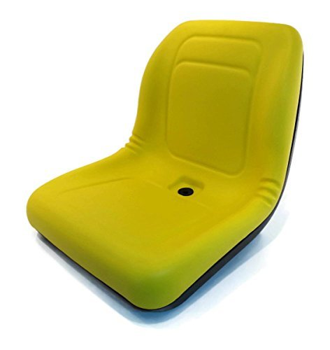LVA10029 Seat - Yellow Fits John Deere:4200,4210,4300,4310,4400,4410,4500, by A&I