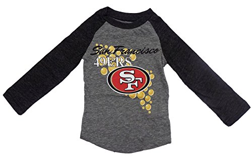 d8bac6966 San Francisco 49ers Gray Girl Kids