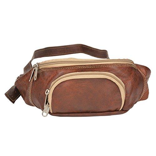 Handcraft Fanny Pack Waist Pack Vintage & Rustic Look Travel...